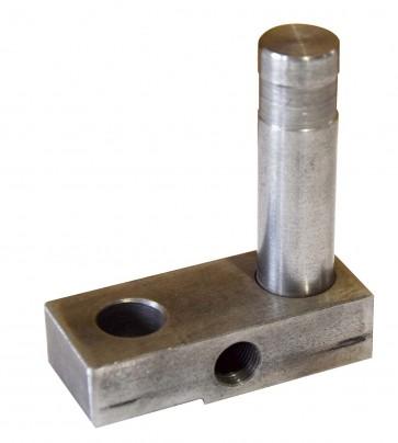 Belt tracking retainer weldment