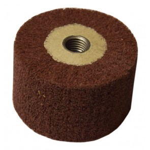 Lamel Scotch Brite wheel, M16 Thread