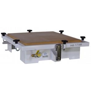 Presse à vacuum à plancher plat