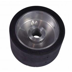 Roue de contact en aluminium et caoutchouc pour Landis, Supreme & Sutton